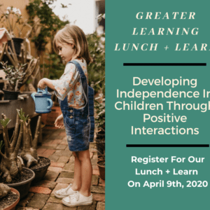 Greater Learning Lunch Lunch Develop Independence In Children